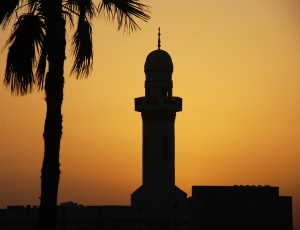 1389176_minaret_at_sunset_1